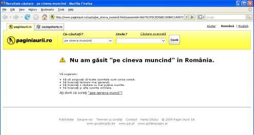 Nimeni nu munceste in Romania